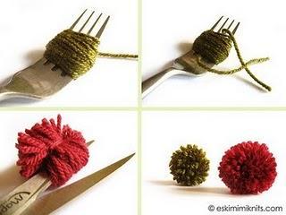 Le forum du filage faire un pompon avec une fourchette c 39 est possible - Pompon avec une fourchette ...