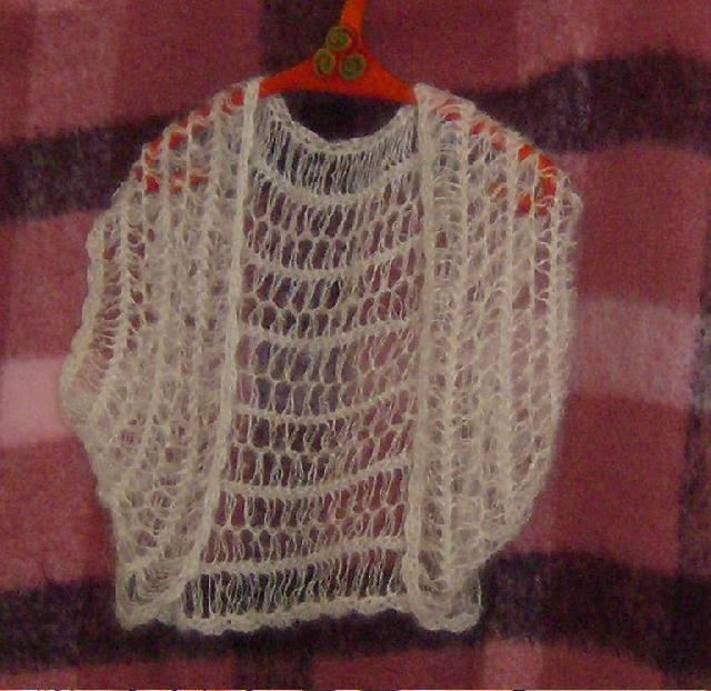 comment tricoter avec la fourche